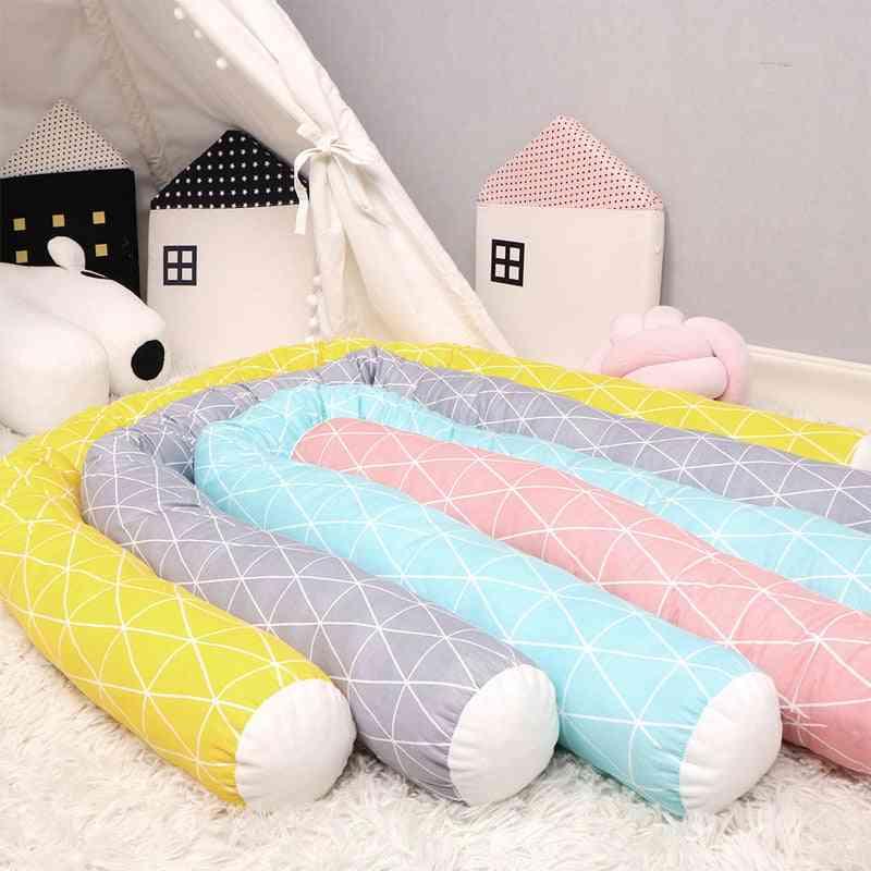 Newborn Baby Bed Bumper, Toddler Crocodile Swan Pillow