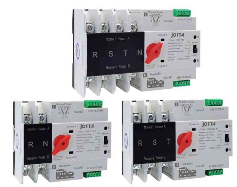 Automatic Transfer Electrical Selector Dual Power Switch