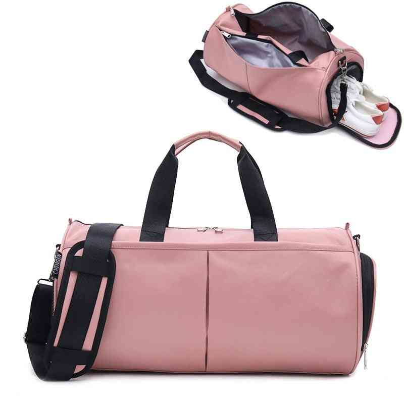 Woman Gym/yoga/sports Fitness Training Bags With Shoes Compartment