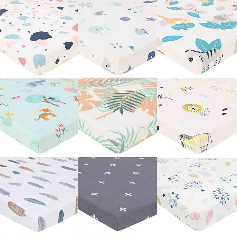 Soft And Comfortable Baby Crib Mattress Cover