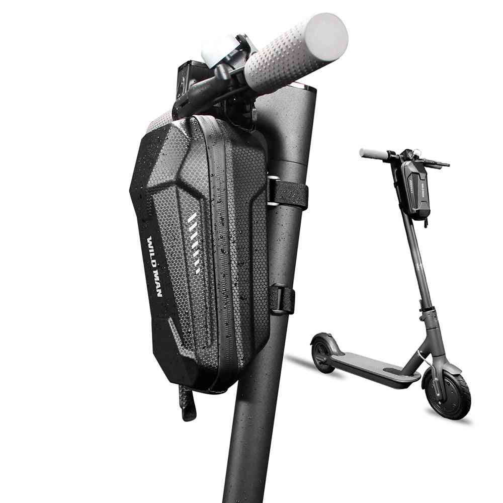 Handle Front Bag For Scooter Folding Bicycle Carrier, Hanging Waterproof Bike Storage