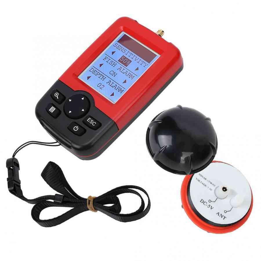 Wireless Fish Finder Alarm, Portable Sonar Sensor Fishing Lure Echo Sounder