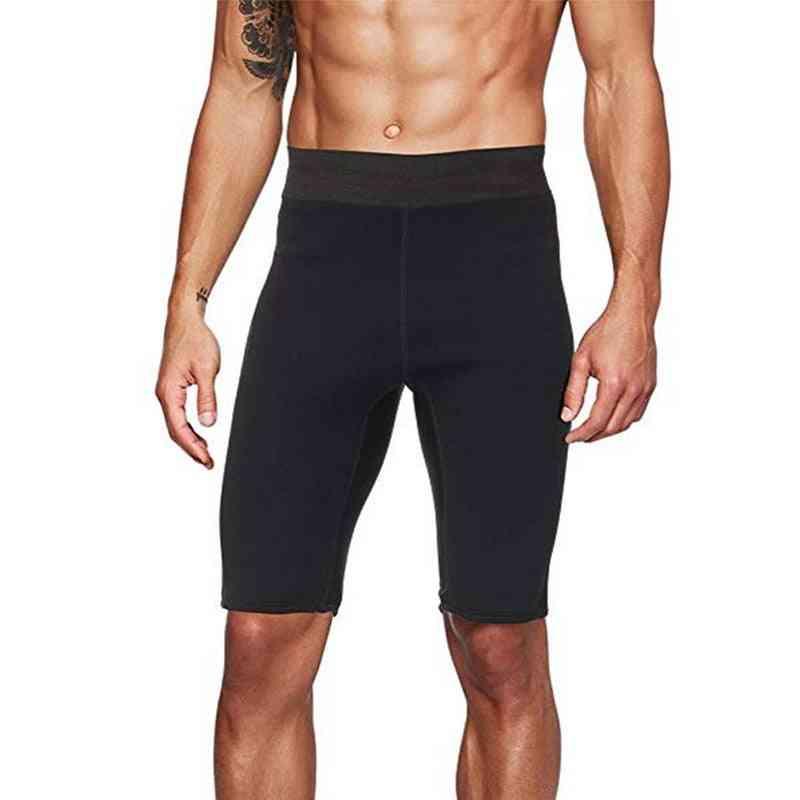 Men Saunathermo Slimming Sports Shorts
