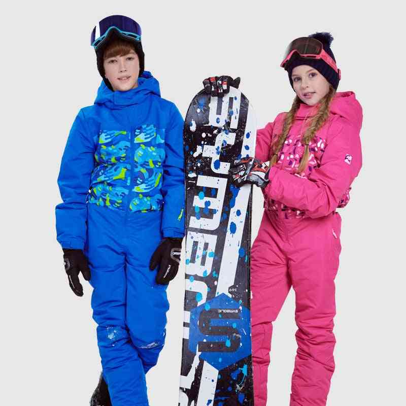 Waterproof And Windproof Hooded Skiing Sets For