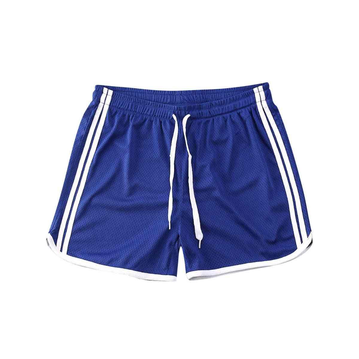 Men Summer Running Shorts- Men Fitness Soccer Sport Gyms Short Bottoms