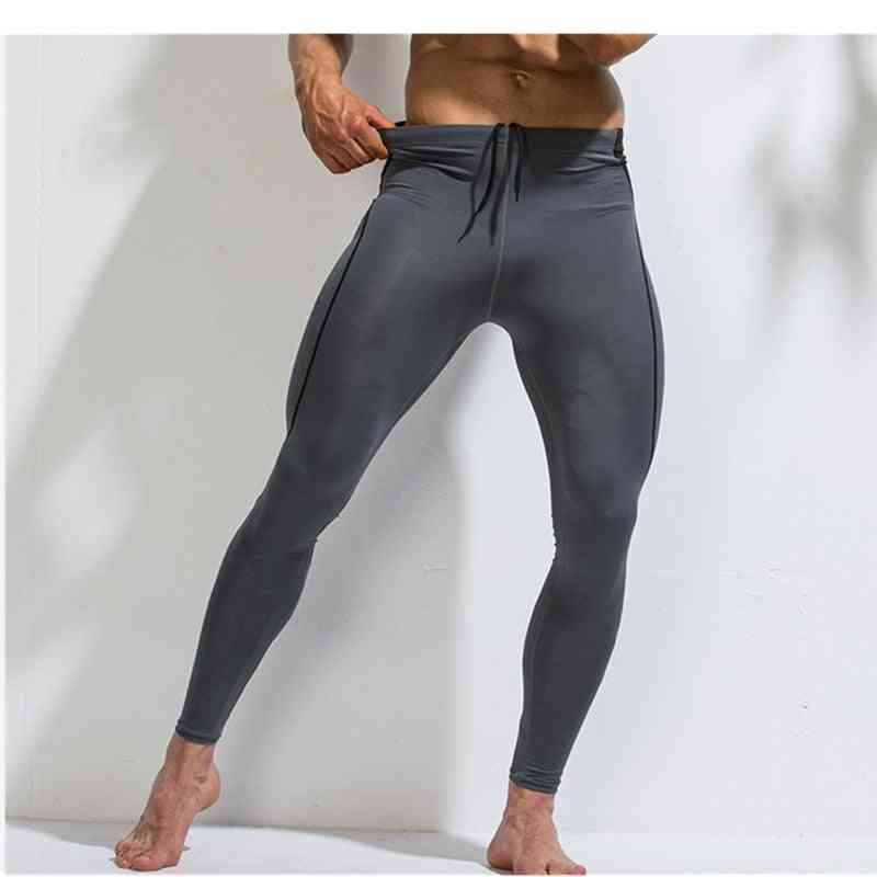 Men Compression Pants- Gym Leggings Fitness Sportswear Running Tights