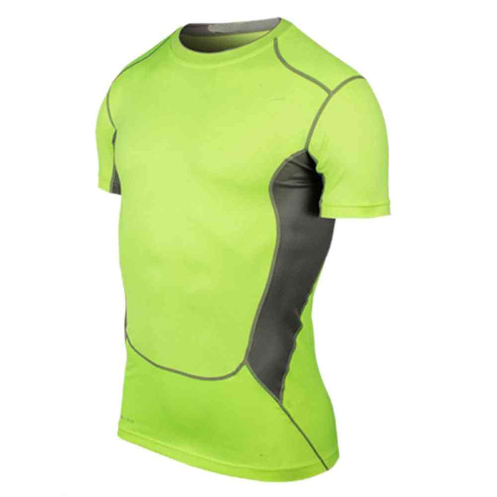 Men's Short Sleeve, Sports Shirt-quick Dry, Sweat-absorbent
