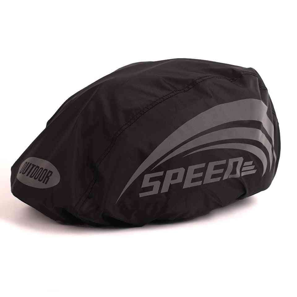 Waterproof And Reflective Cover For Sports Helmets