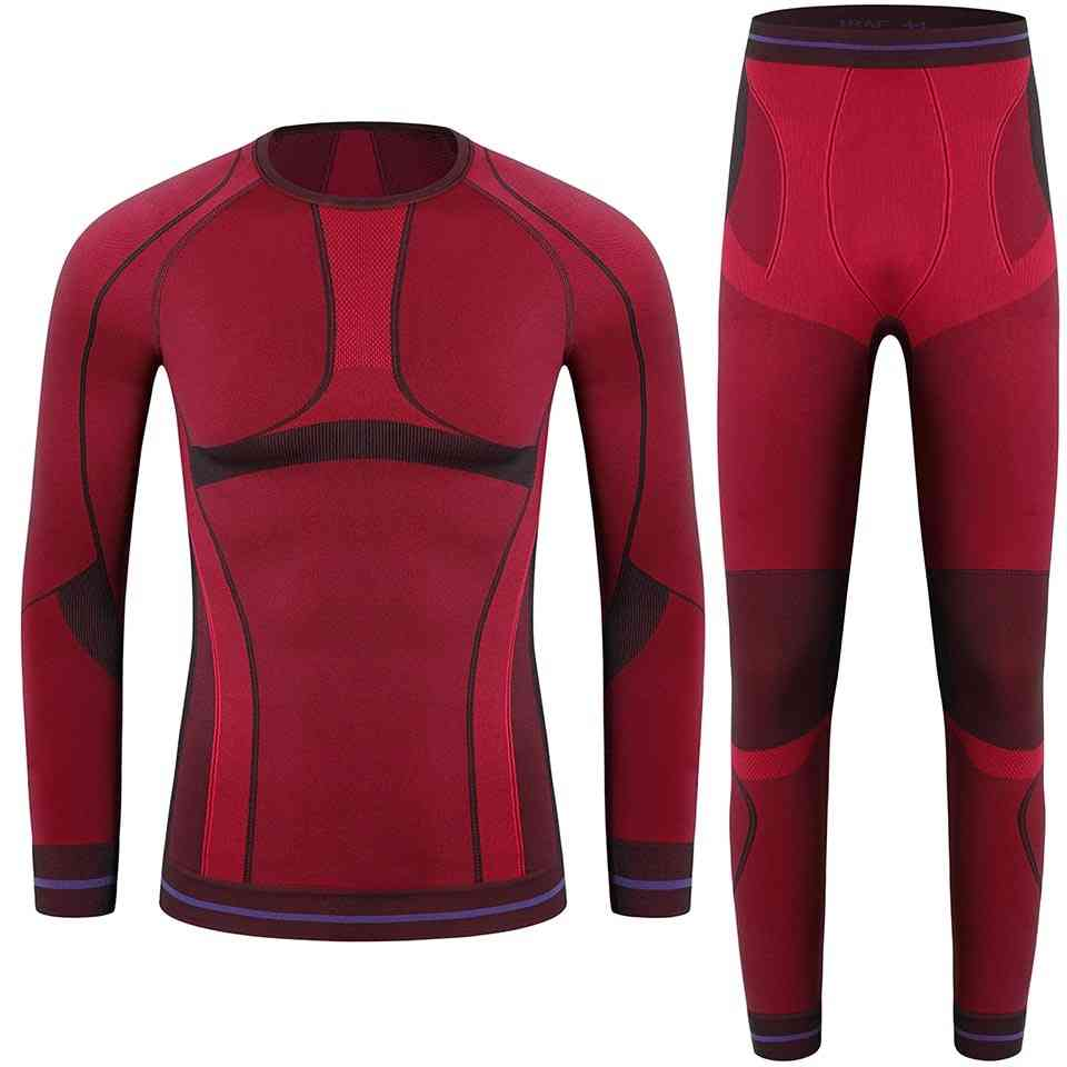 Children Sports Ski Thermal Underwear Sets
