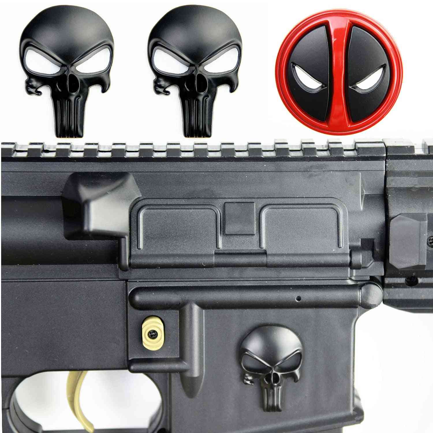 Metal Badge Sticker For Airsoft Rifle