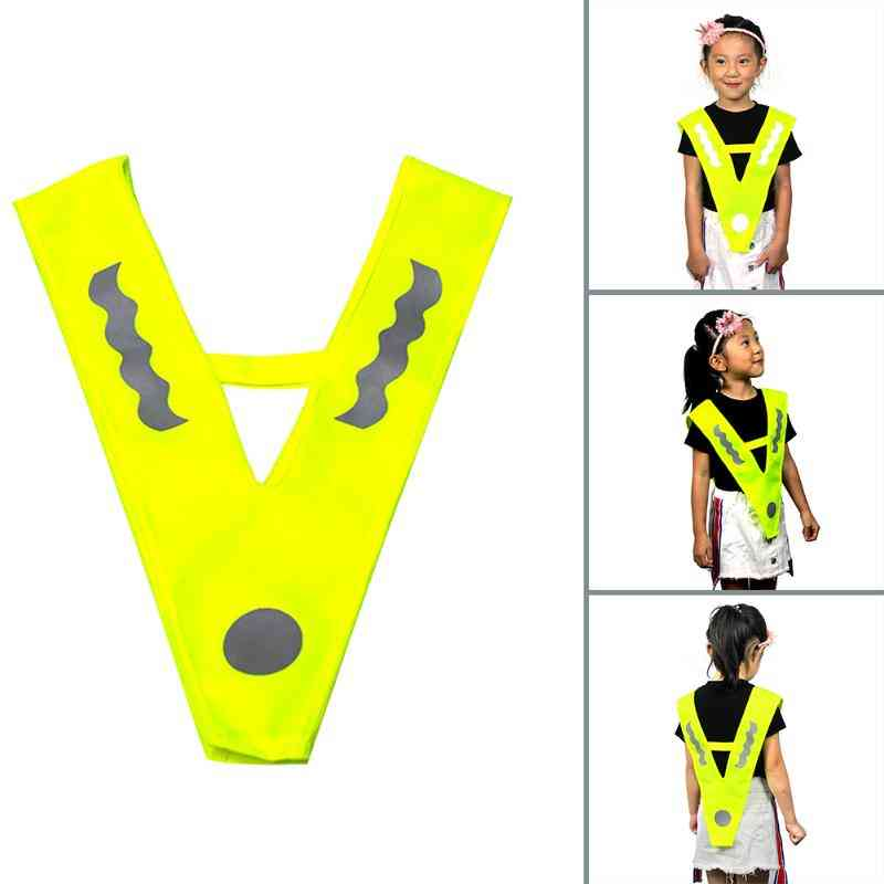 Reflective Vest- Outdoor Kids Breathable Jogging Running Cycling Safety Vest