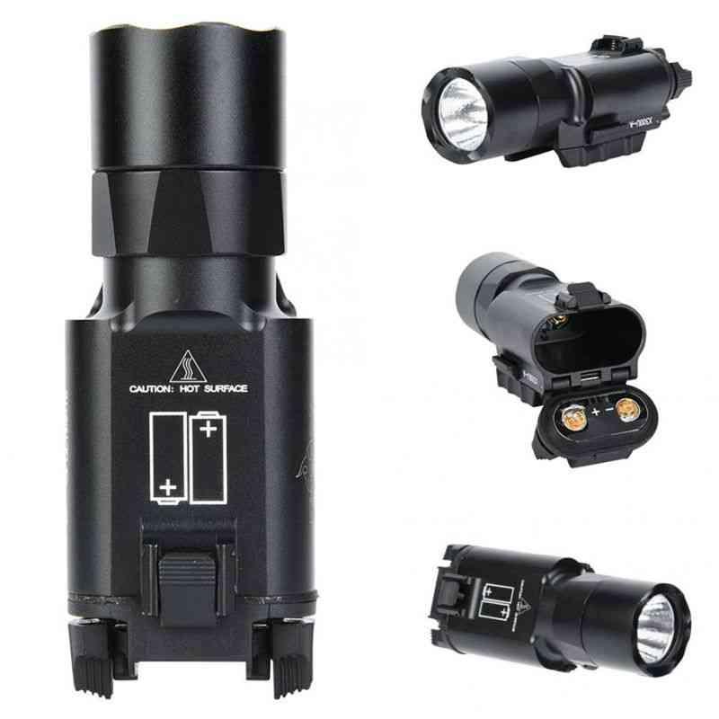 Output Tactical Ultra Pistol Gun Light Weapon Lanterna Flashlight Glock