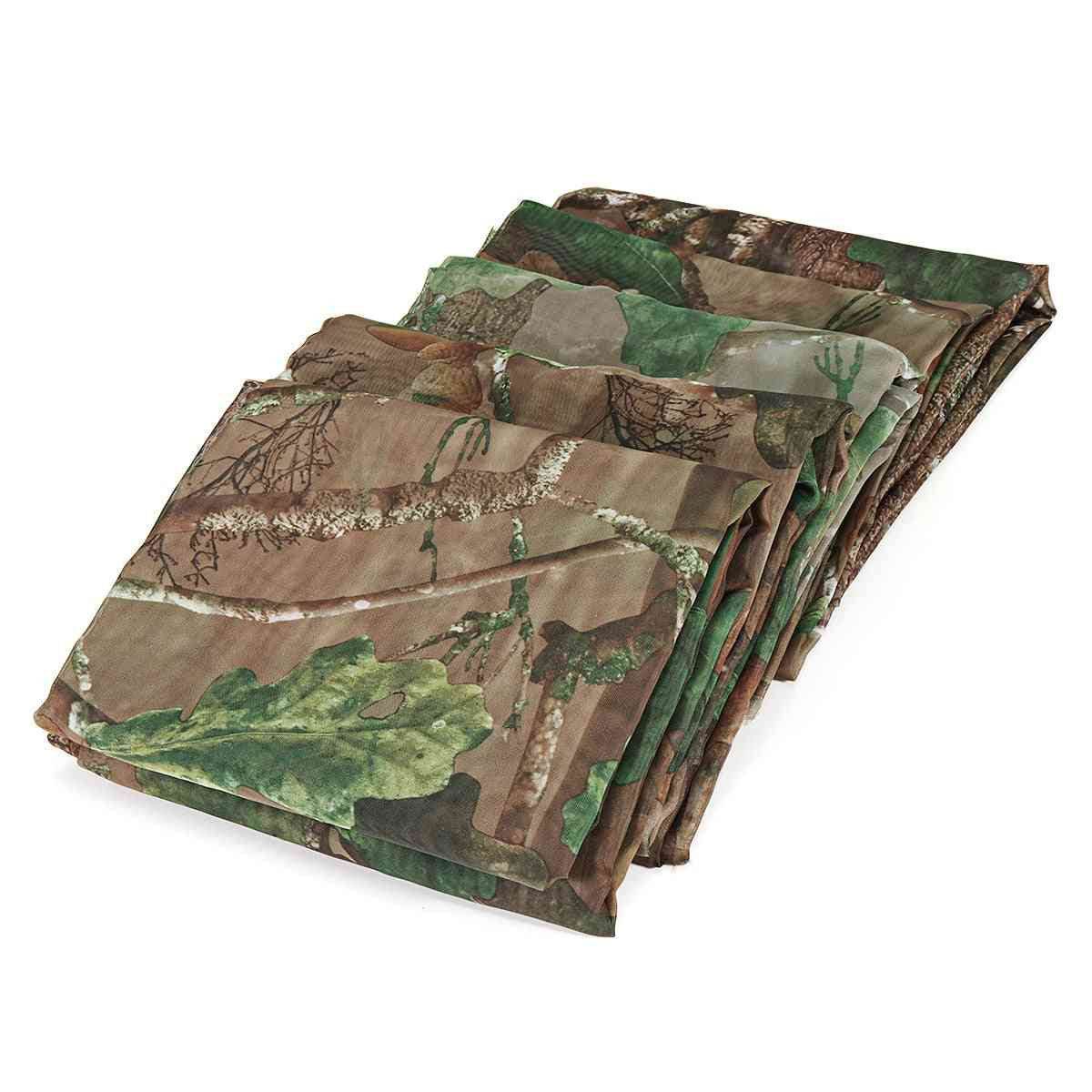 Multi-function Camouflage Printed, Ultra Light Net For Shooting And Wild Fowling