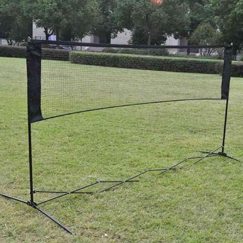 Portable Quickstart Net For Indoor/outdoor Tennis, Badminton Training