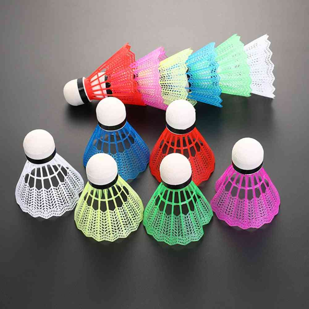 Sports Training Badminton Bal,l With Box Colorful Shuttlecock Entertainment Wear Accessories