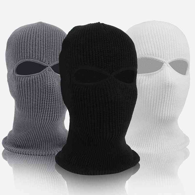 Wool Knitted And Windproof Neck-face Cover Mask For Outdoor