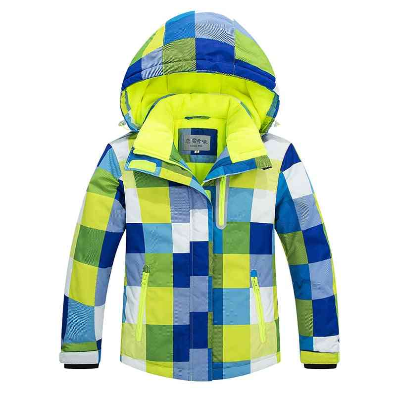 Winter Skiing And Snowboarding Jacket Pants Set