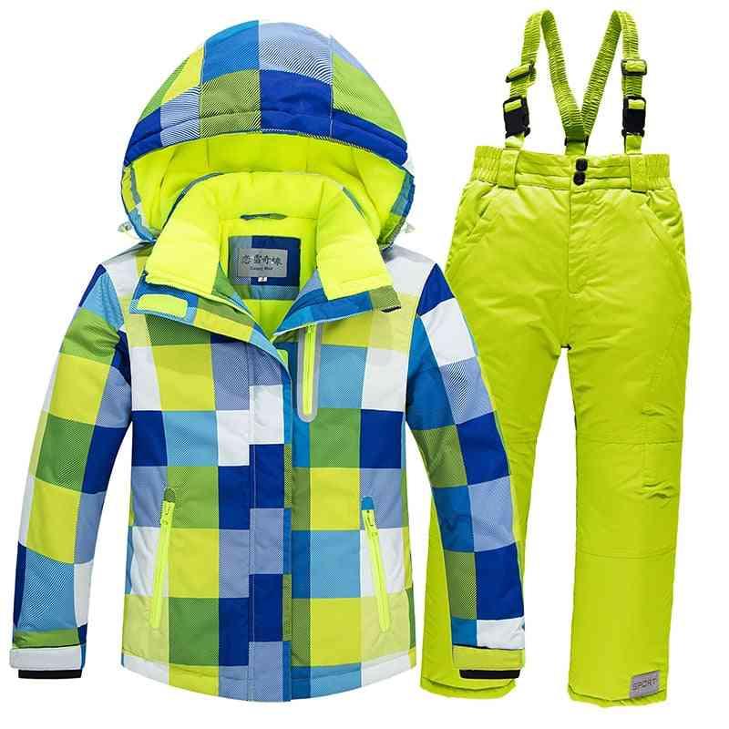 Kids Ski Suit-windproof And Waterproof