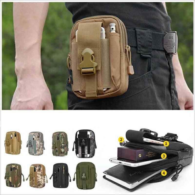 Waist Pouch With Phone Holder For Men's Outdoor Sports