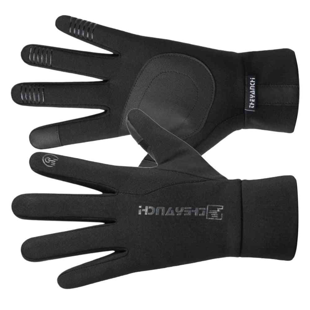 Safety Riding Gloves, Winter Warm Touch Screen Non-slip Windproof & Waterproof All Finger