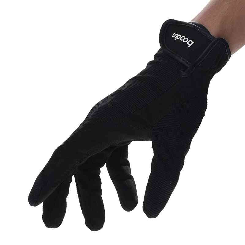 Horse Riding Gloves, Breathable Adjustable Accessory