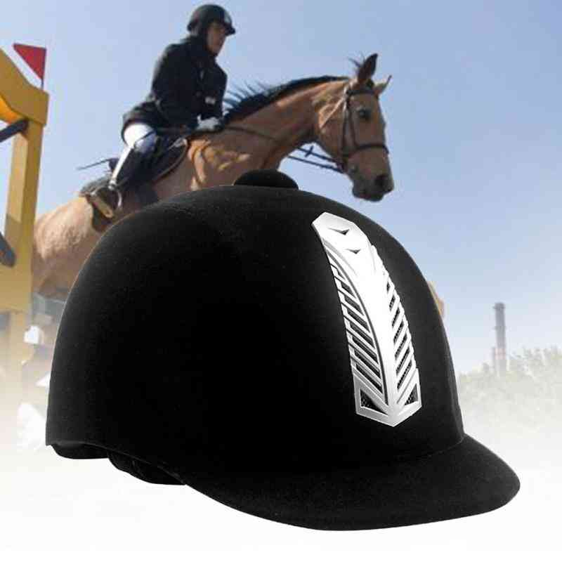 Half Cover, Ultralight And Breathable Equestrian Professional Helmet