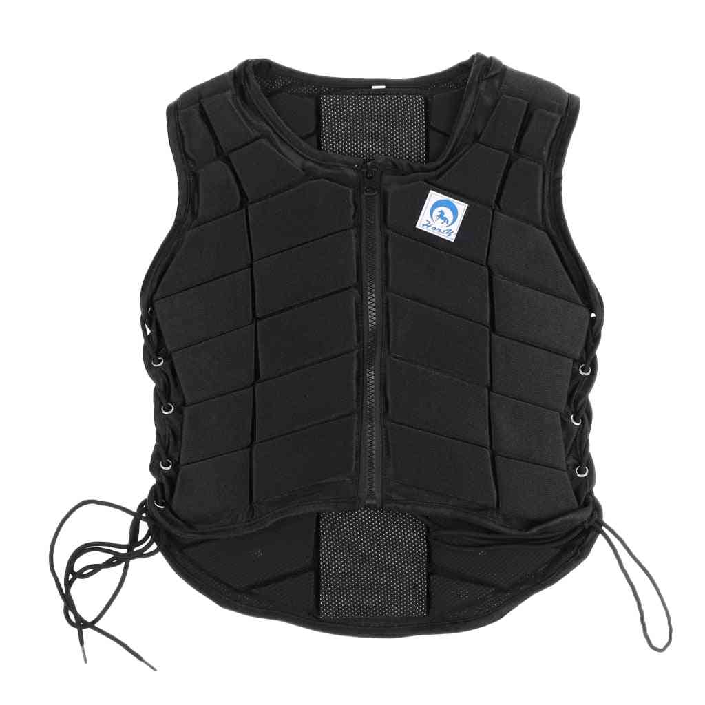 Outdoor Safety Horse Riding Equestrian Vest, Body Protector Gear, Kids, Adult, Women