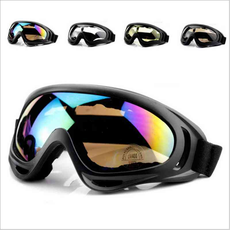 Winter Outdoor Cycling, Anti-fog Snow Sports Skiing Goggles For Men And Women