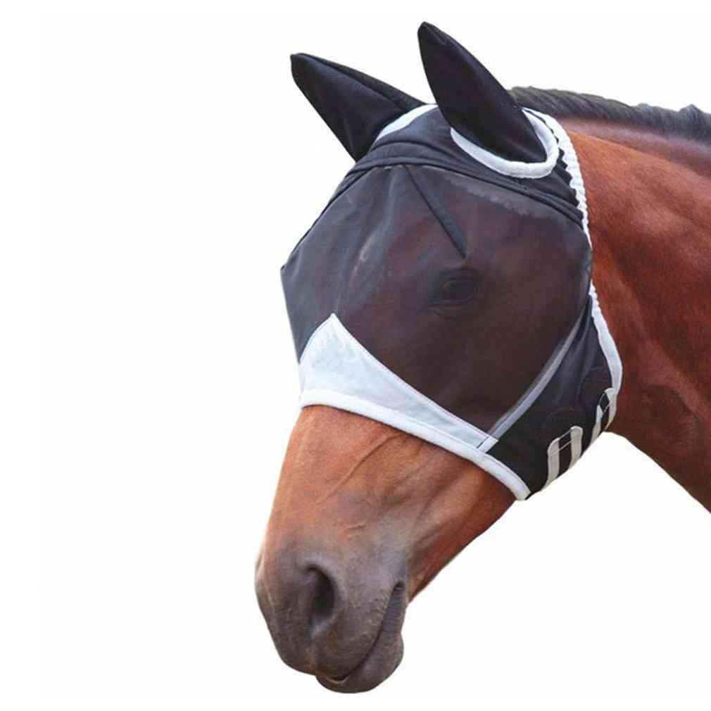Detachable Horse Full Face Anti-mosquito Mak
