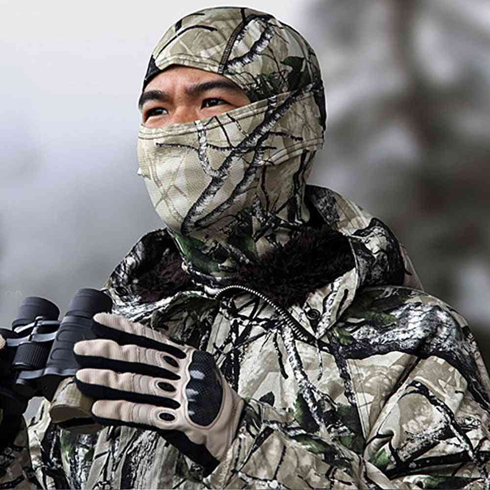 Camouflage Hood Tactical Hunting Mask