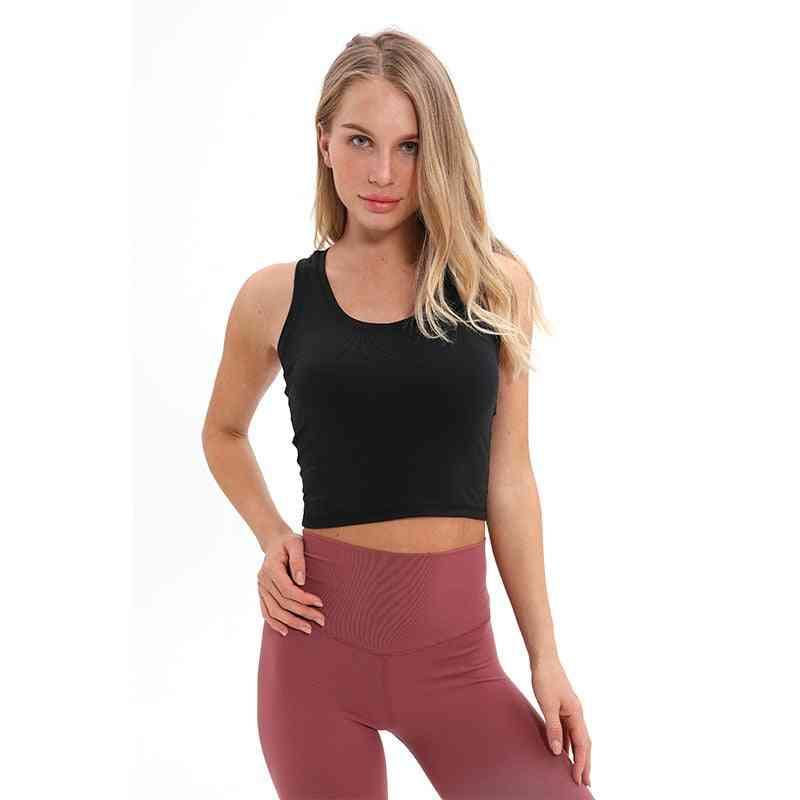 Women Soft Nylon Workout Tanks Tops