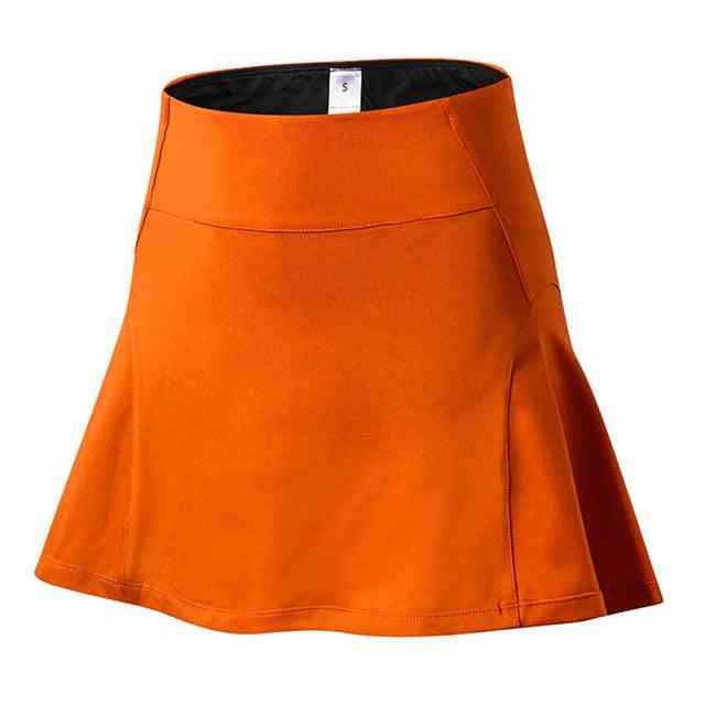 Women Sport Tennis Skirt With Pocket