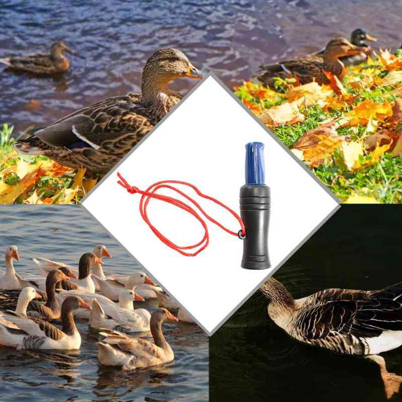Duck Call Hunting Whistle Decoy Imitate Pheasant Voice Hunting With Rope Outdoor Hunting
