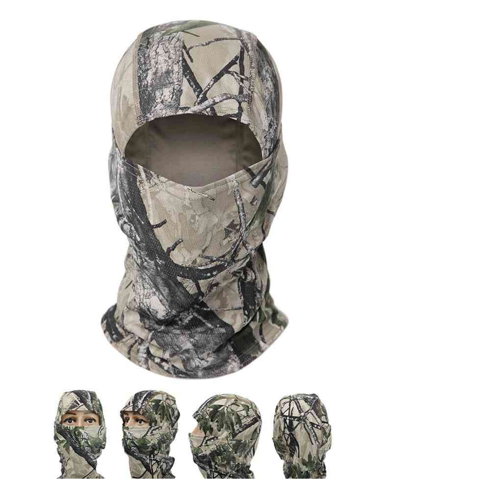 Hunting Camouflage Hood Full Face Mask
