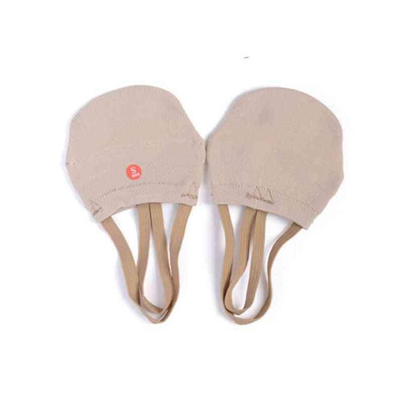 Soft Knitted Half Socks For Gymnastics Toe Shoes