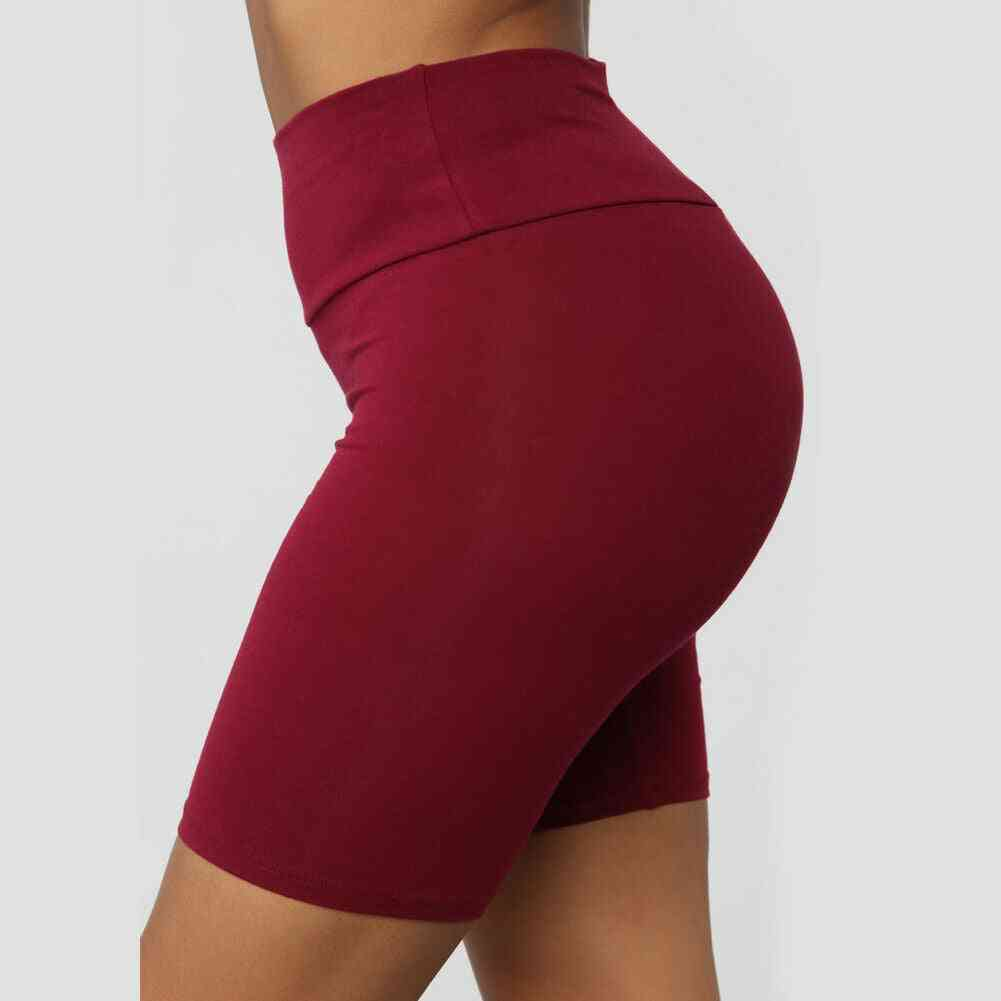 Women Workout Stretchy Shorts