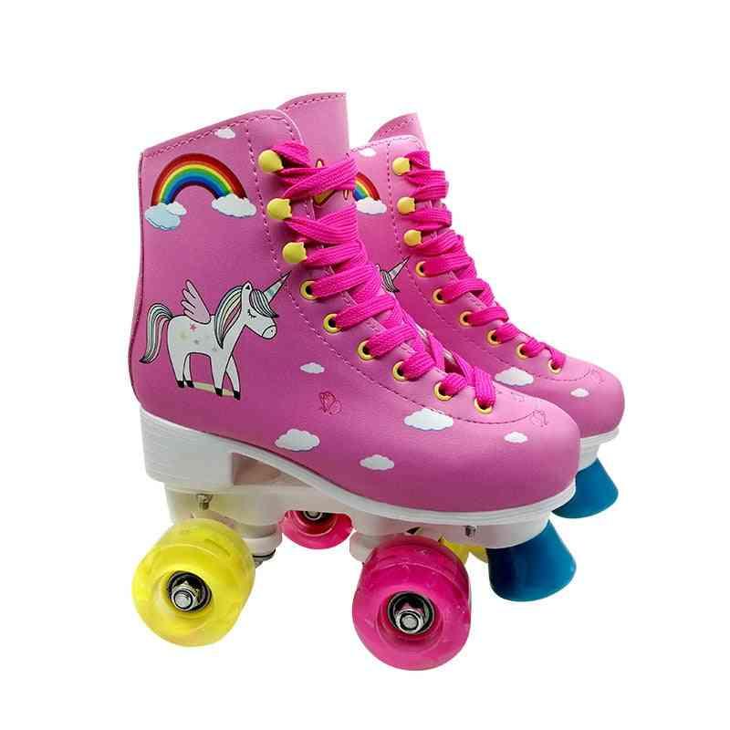4-wheels Kid's Inline Skates For Beginner/intermediate