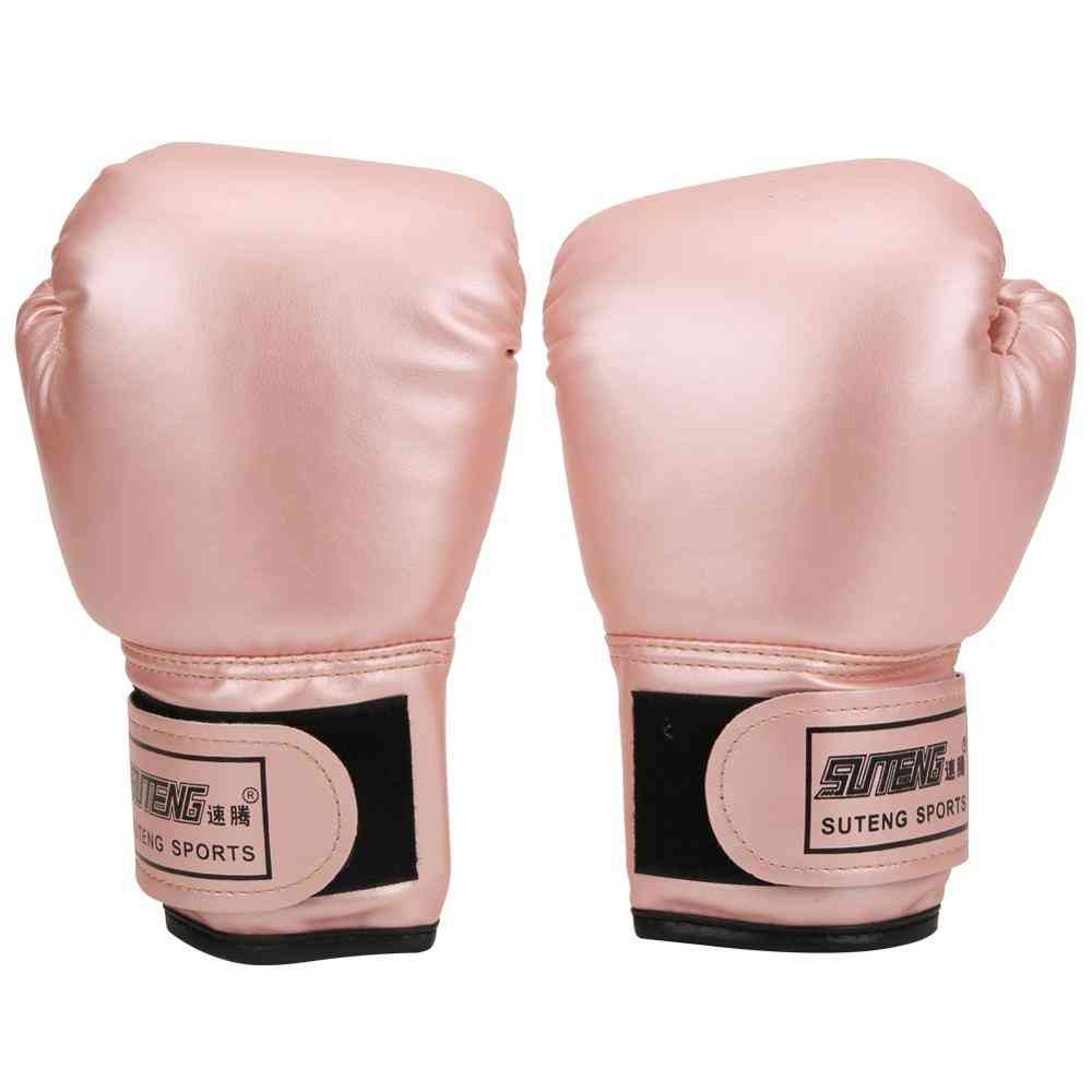 1 Pair Of Boxing Gloves For Kid's Sports Training
