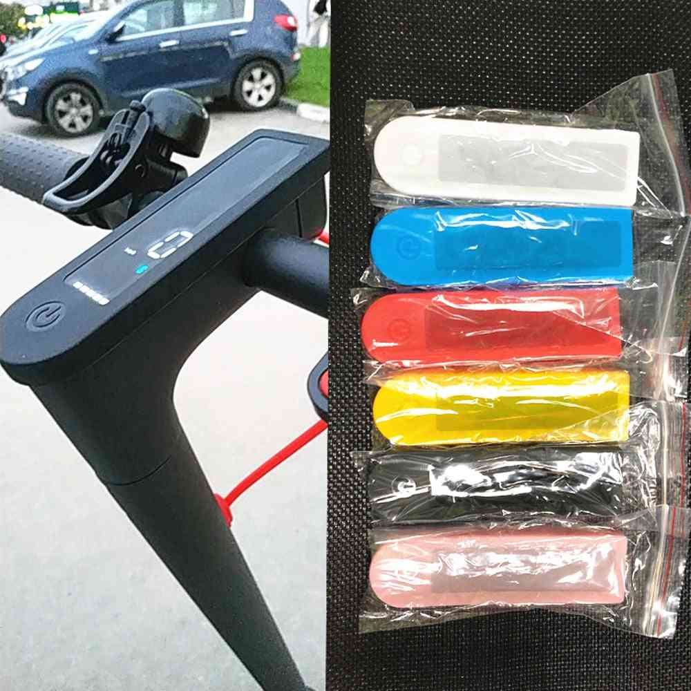 Silica Gel Protective Covers, Dash Board, Silicone Case For Electric Scooter, Skateboard Accessories