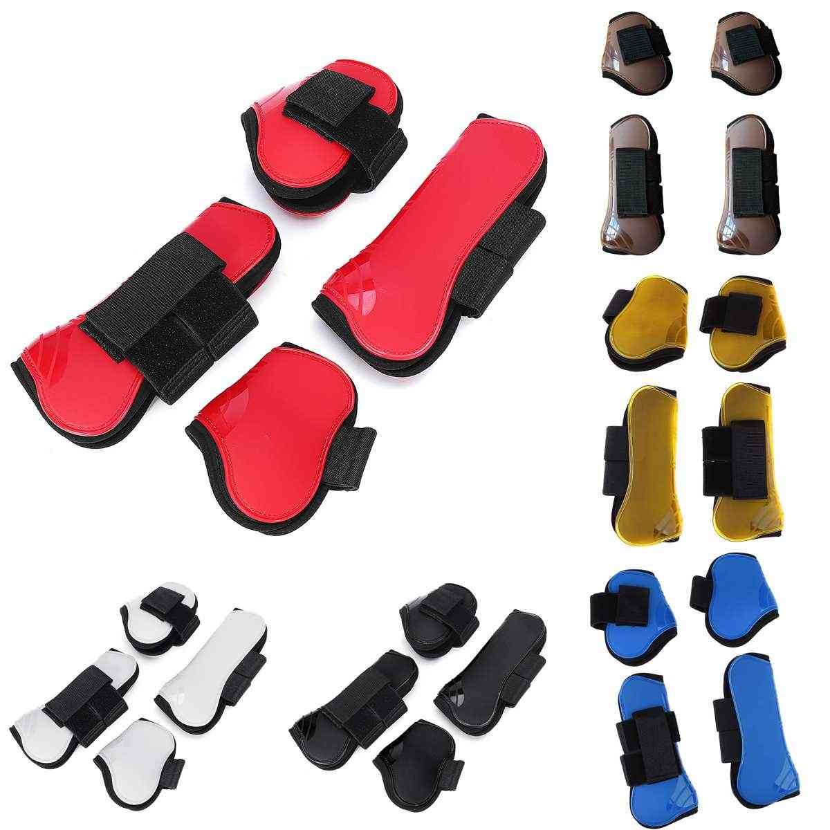 Horse Tendon And Fetlock Boots Equestrian, Sports Jumping Leg Protection