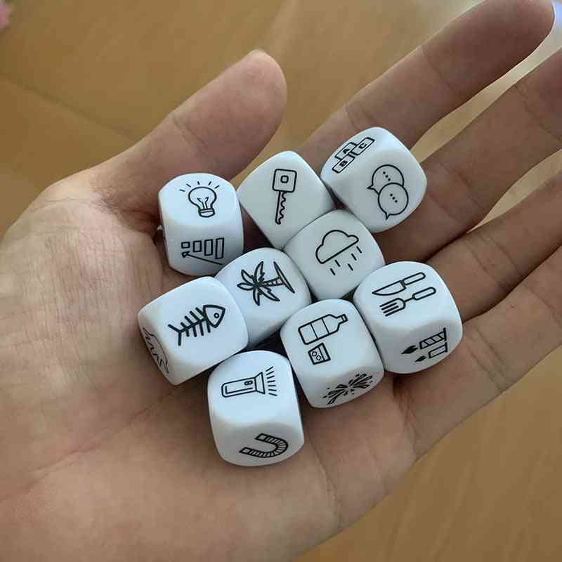 Acrylic Dice For Puzzle Board Game