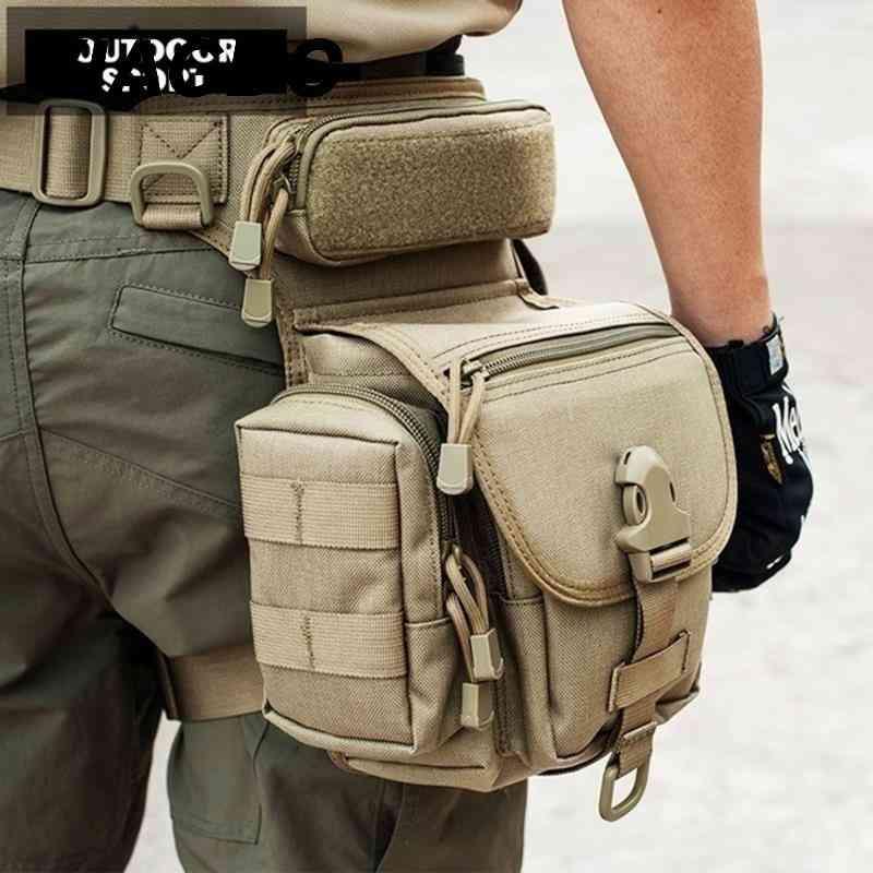 800d Tactical Waterproof Military  Armor Hunting Leg Bag