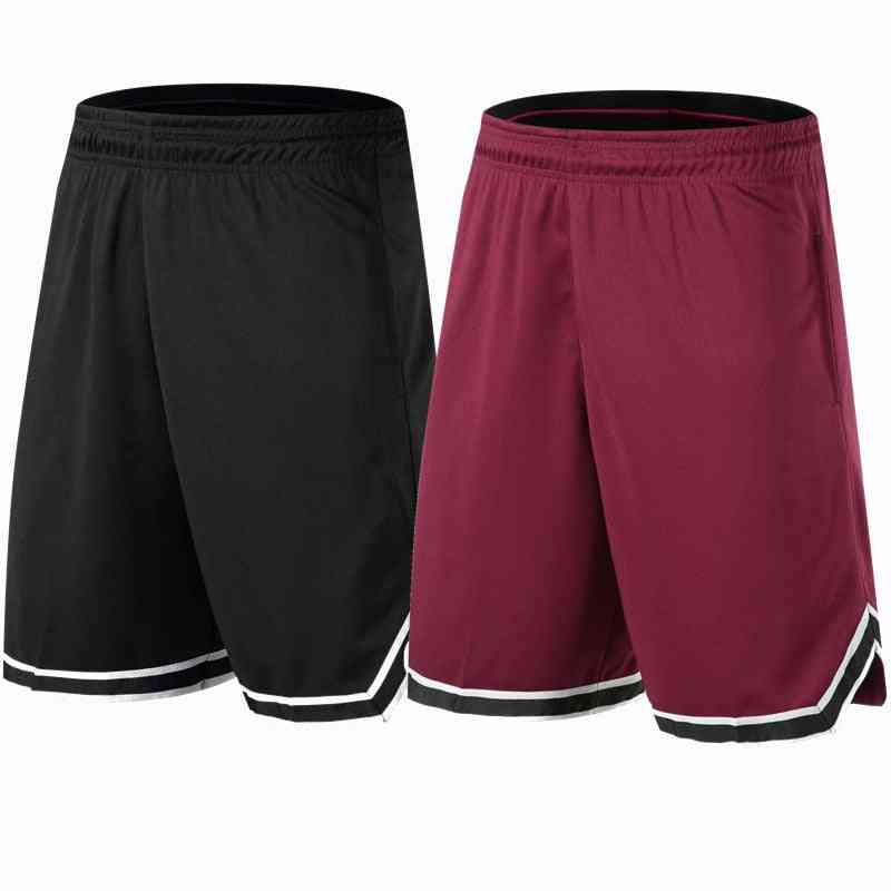 Basketball Shorts, Breathable Sweat Sport Running, Outdoor Fitness Pants Loose Beach