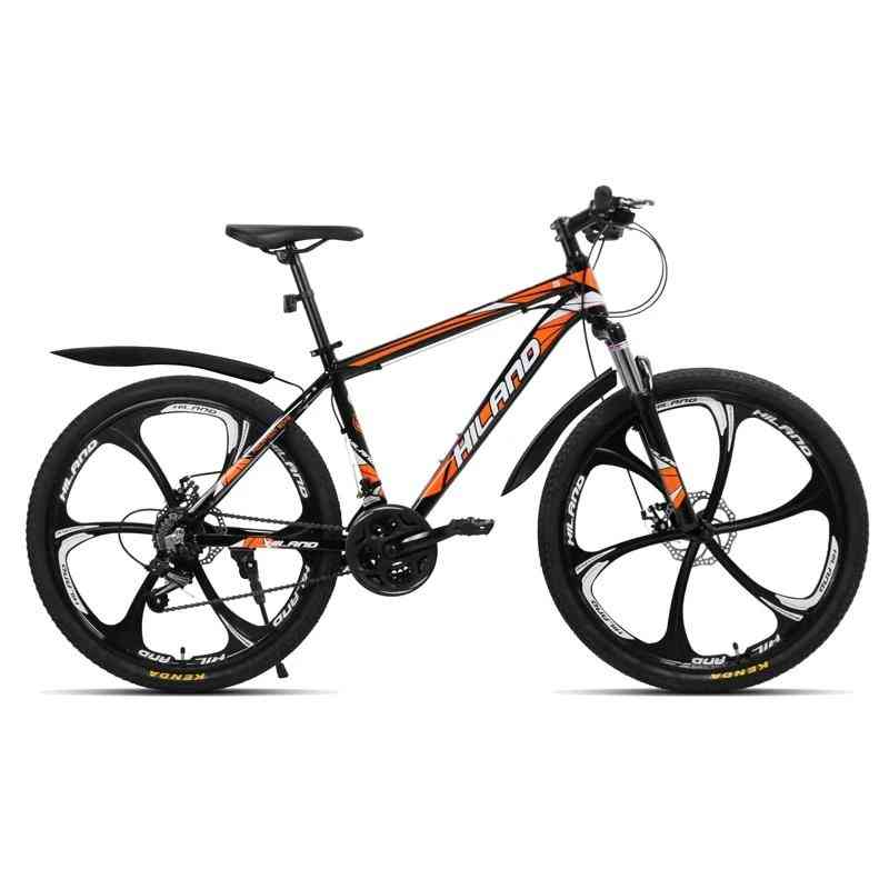 26 Inch, 21-speed Aluminum Alloy Suspension Bike With Double Disc Brake, Mountain Bicycle