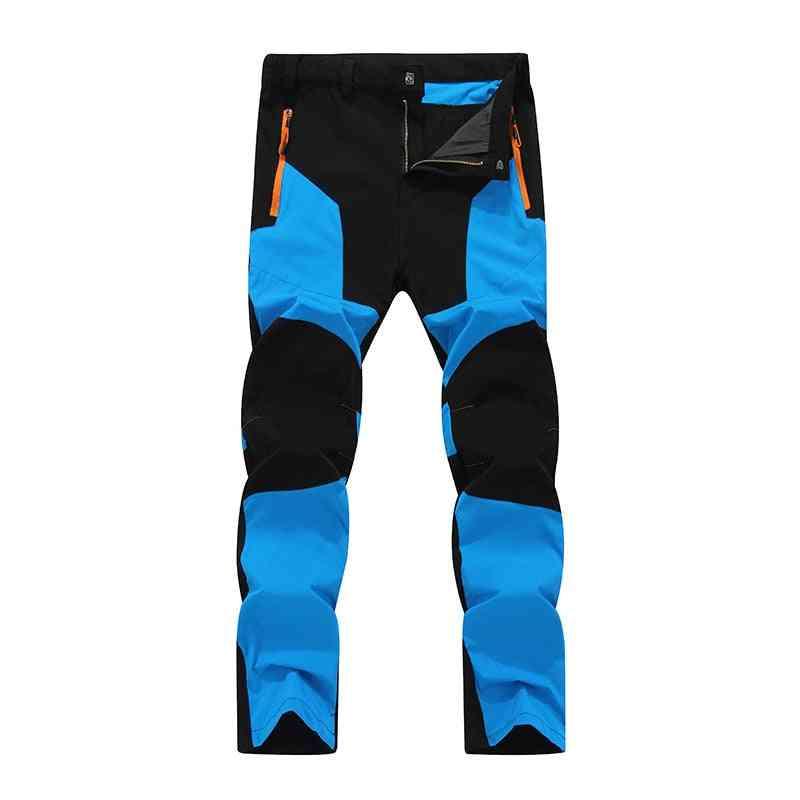 Men Elastic Water Resistant Skateboarding Pants