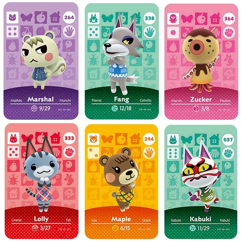 Animal Crossing Printed Cards