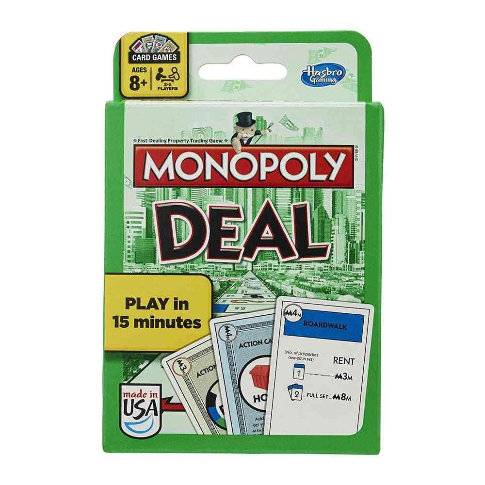 Hasbro Monopoly Deal Card Game-family Party Toy