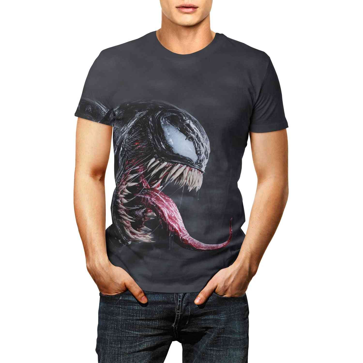 Men And Women Fashion Trend Youth Cool T-shirt