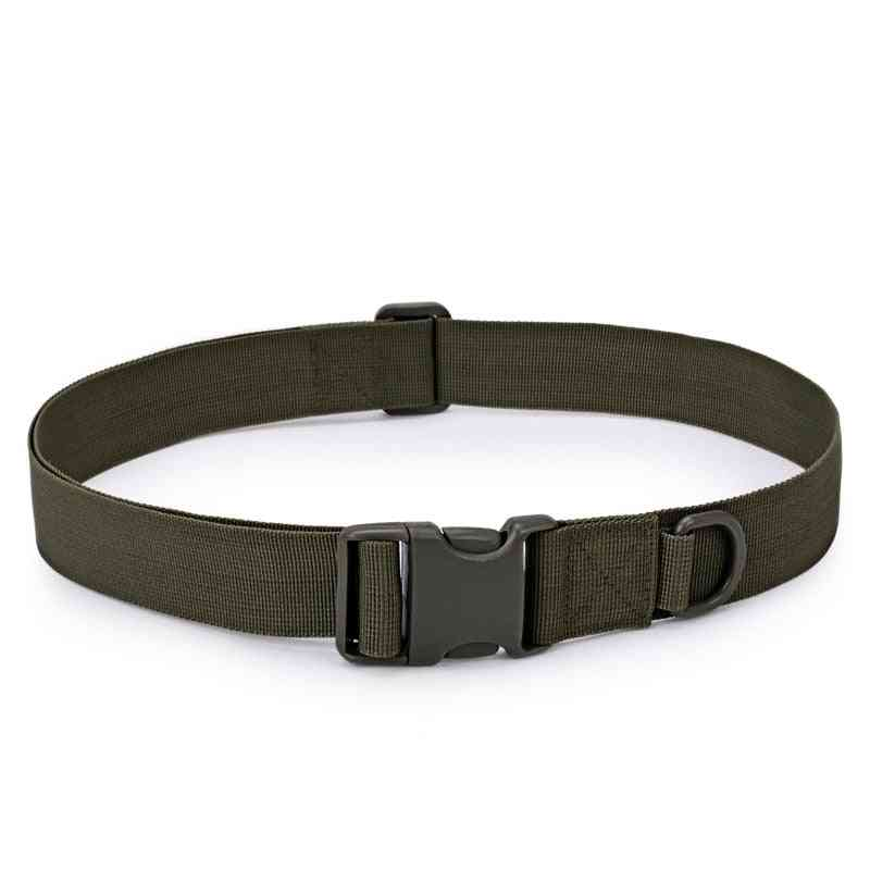 Adjustable Tactical Belt, Buckle Bag, Waistband Military Rescue Tool