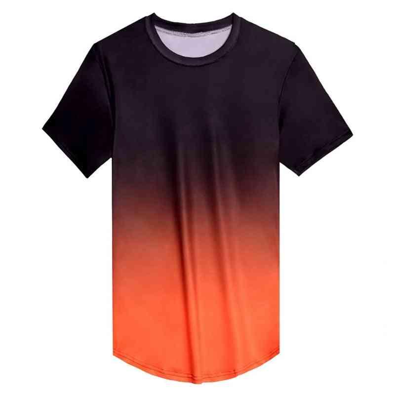 Men Short Sleeve Fitness T-shirt